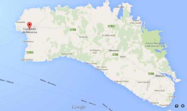 Visit to Menorca