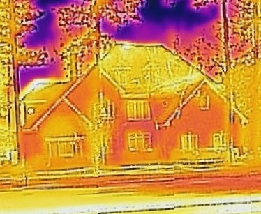 House Infrared Photo