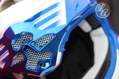 helmet, closeup