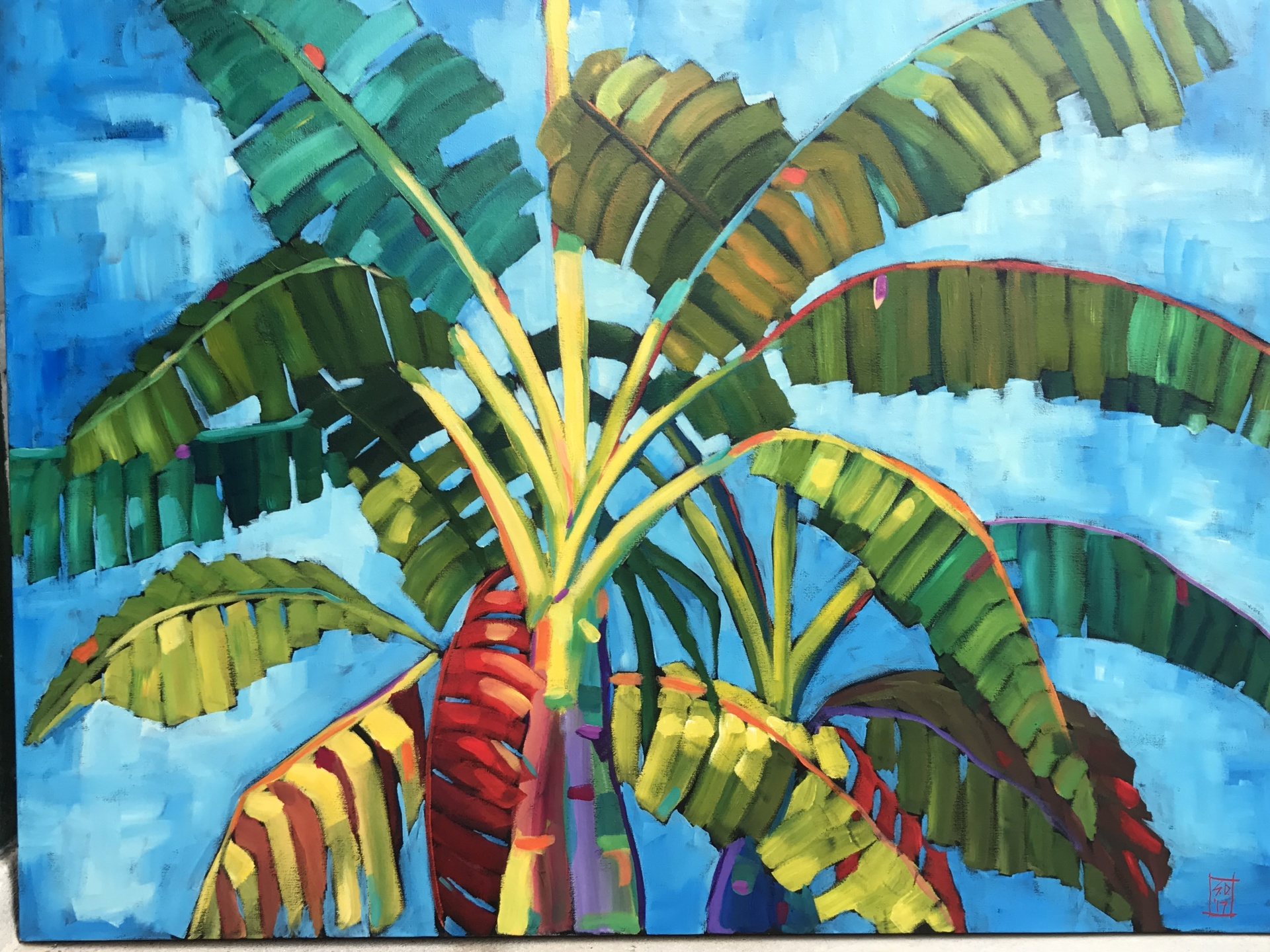 Tropical Window #1