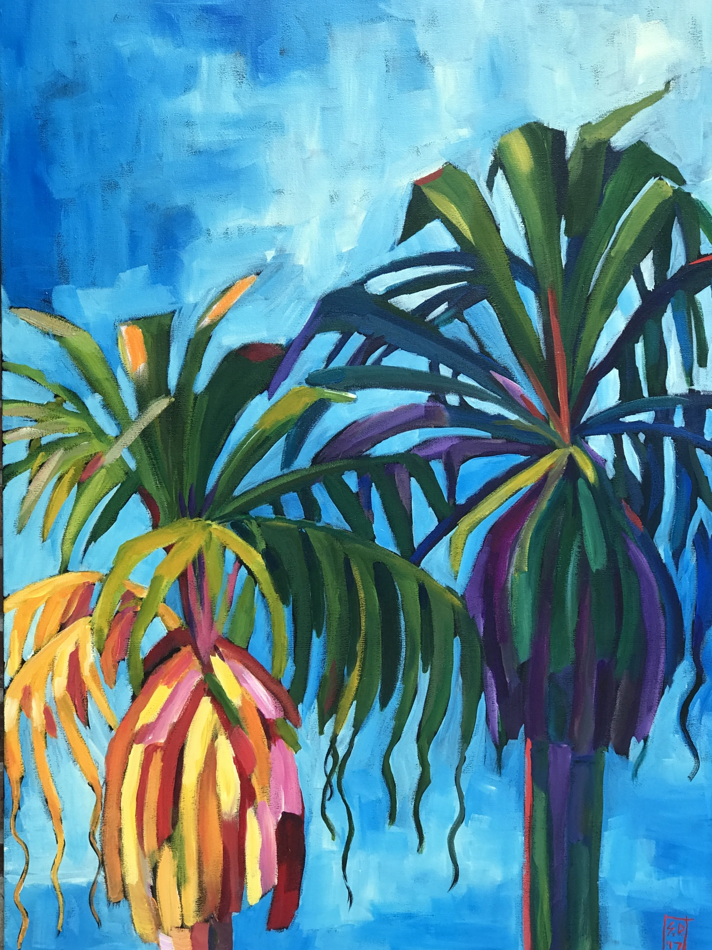 Tropical Window #3