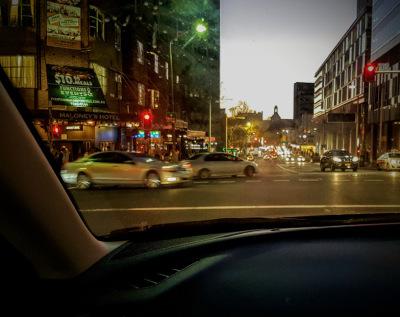 night driving cbd