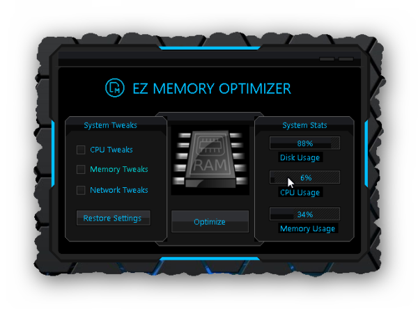 Grab your copy of EZ Memory Optimizer for only $0.99 today!