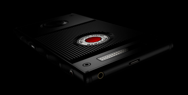 RED's typical hyper-aggressive product design makes for an interesting-looking phone.