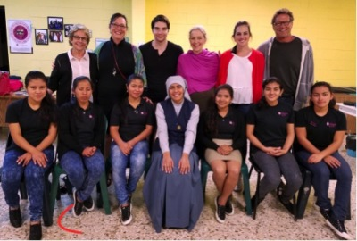 The Gracia Board of Directors with Madre Claudia and the Mujeres Fuertes Jalapa, Guatemala