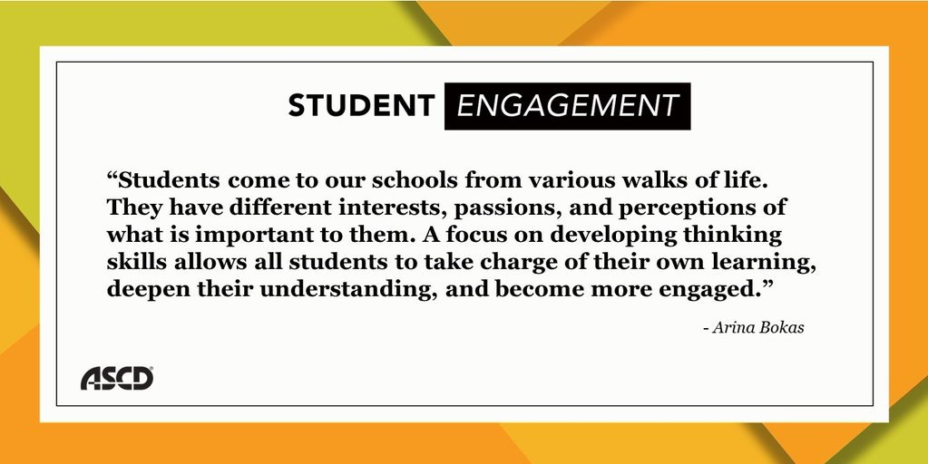 Freedom to Think: Thinking Strategies for Student Engagement
