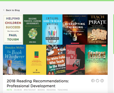 NCTE 2018 List for Professional Development
