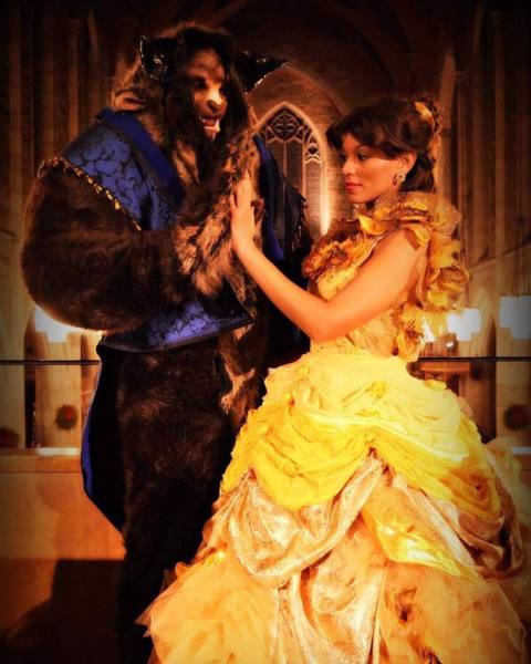 Beast in Beauty and the Beast