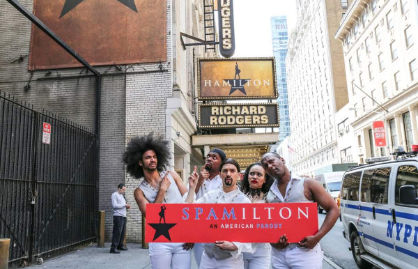 Daveed Diggs in Spamilton: An American Parody