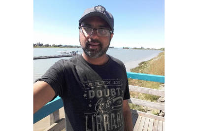Vijay R. Nathan - Poet and Librarian