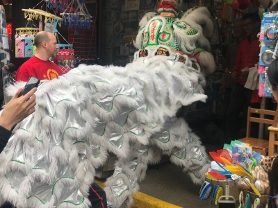 The Lion Dance Parade and Lucky Lunar New Year Foods