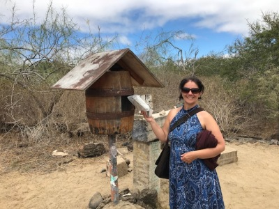 The Galapagos Report - Day Seven - Hermit Crab Surprise – Cactus Jack, the Rapper