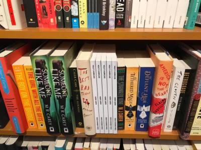 HOLLY'S HURRICANE in Astoria Bookshop