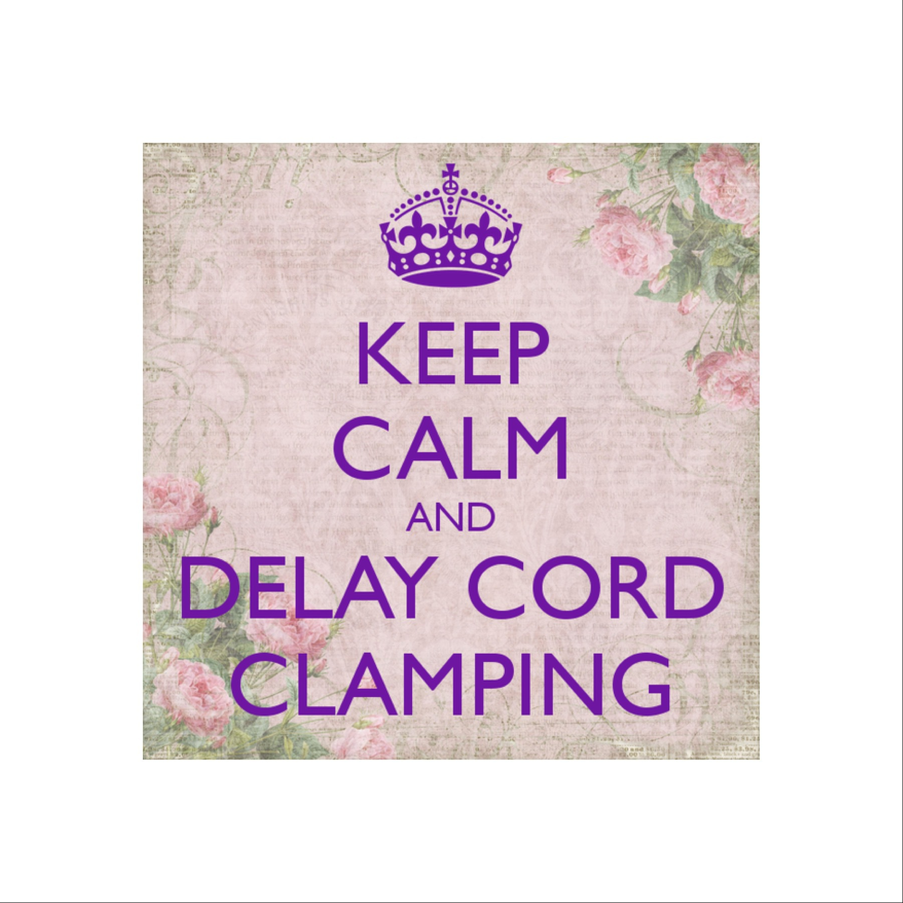 Delaying Cord Separation