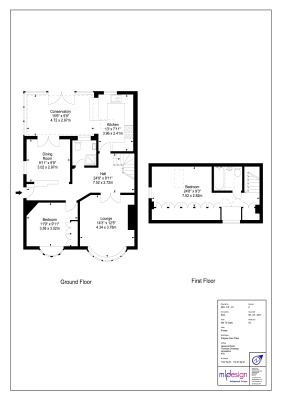 Residential Floor Plan Example