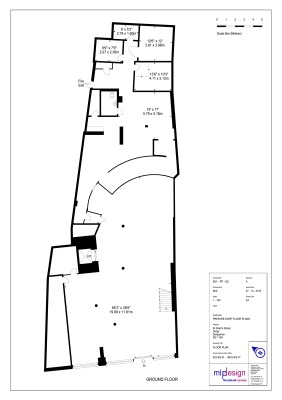 Commercial Bank Floor Plan Example