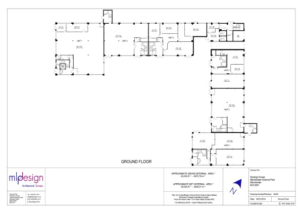 Industrial Floor Plan Example