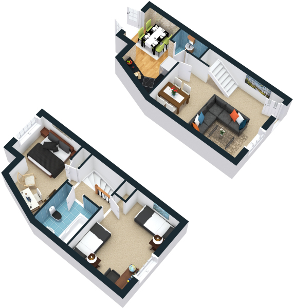 3D Example Floor Plan
