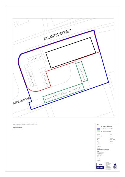 Land Transfer/Title Plan Example