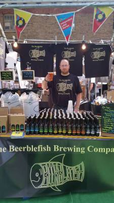 Stall at London Brewers Market