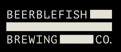 Beerblefish Text Logo in Black and White