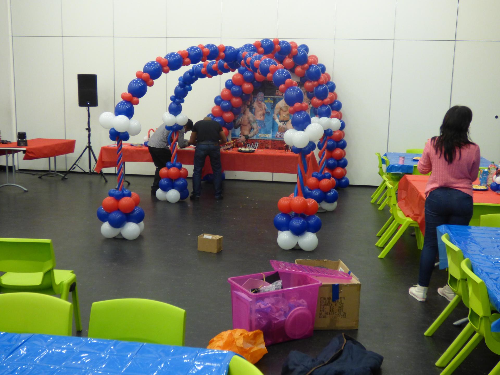 WWE Balloon canopy