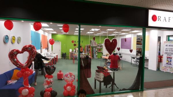 Valentines Shop Window!!
