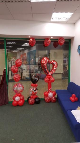 Valentines day decor!!