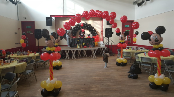 Mickey Mouse themed Party!!!