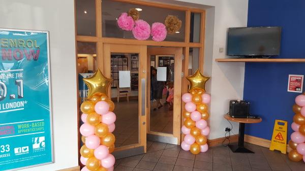 Balloon columns!!!