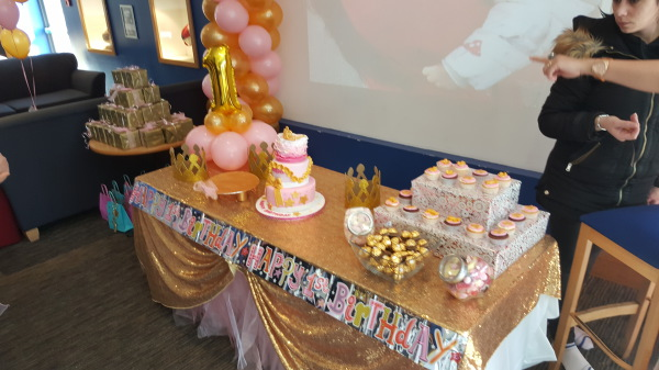 Gold and Pink Party!!!