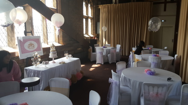 Stuffed Balloons. Centrepieces and Cake table