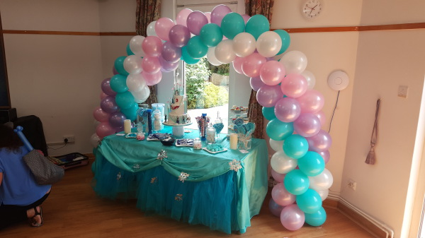 Frozen Themed Party!!!