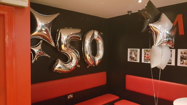 Wall Balloon Decor!!