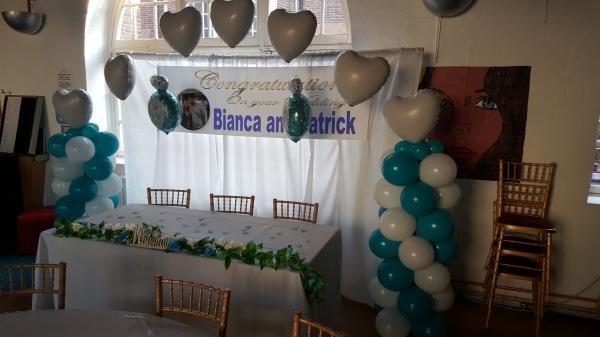 Heart Balloon Arch