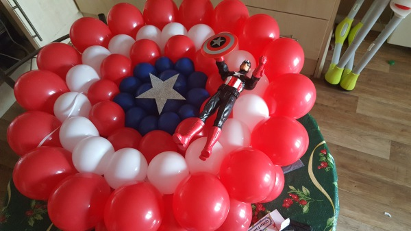 Balloon Shield Captain America