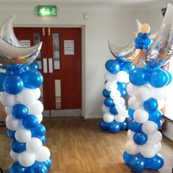 Balloon entrance!!!