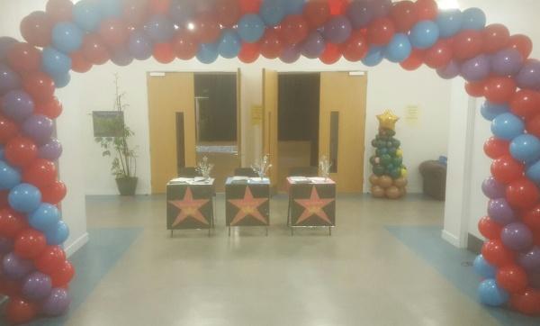 Balloon Arch for school disco!!!