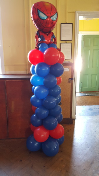 Spiderman Balloon column!!!