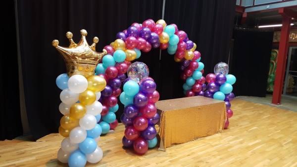 balloonarch, balloon columns, balloons, balloon arch,