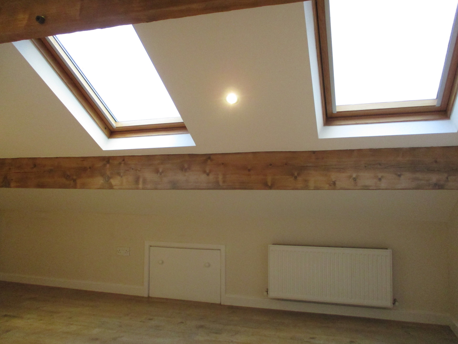 painted loft conversion