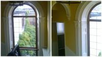 restored painted window
