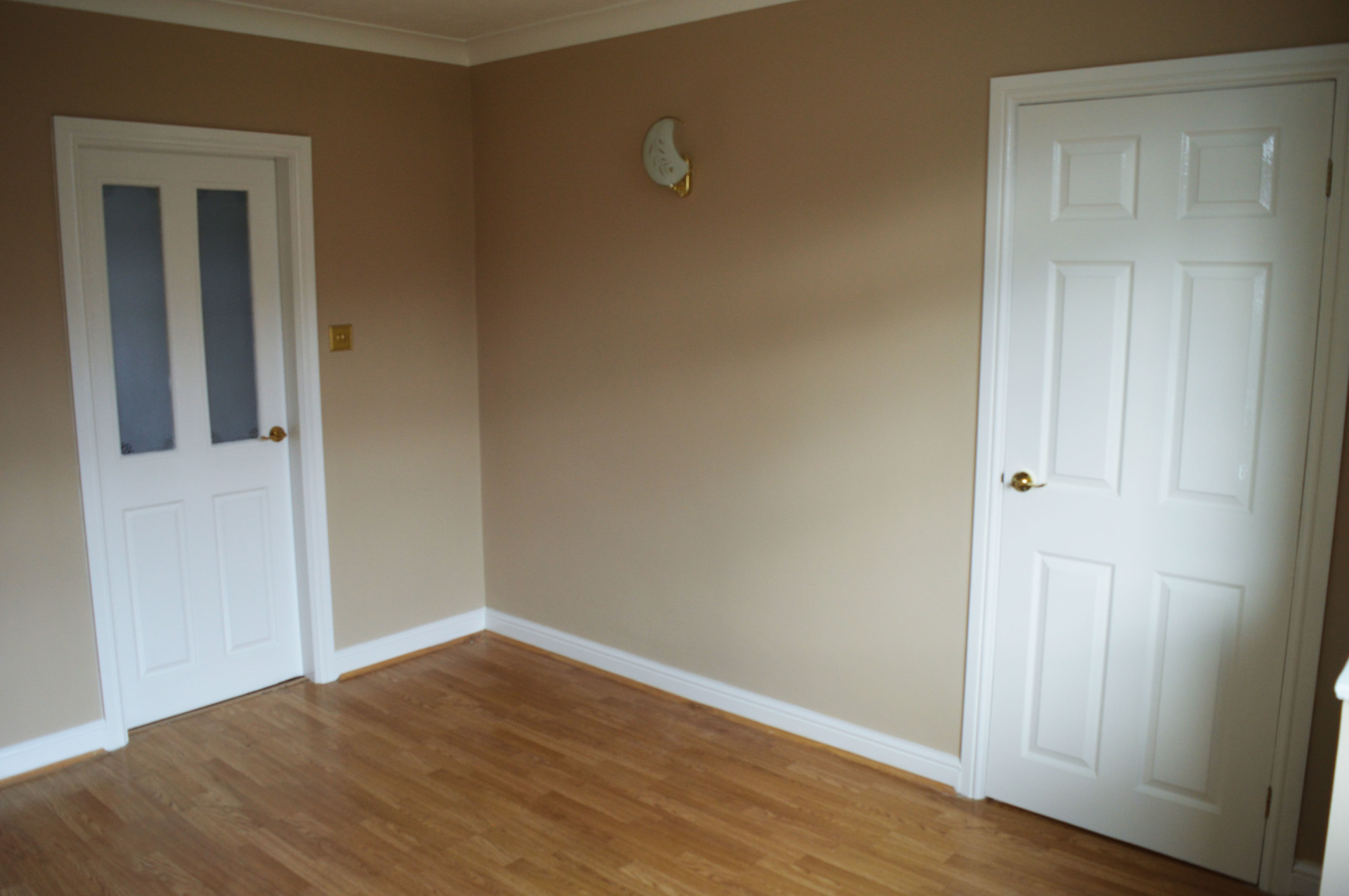 interior painting and decorating finished job