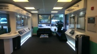 painted finished showroom