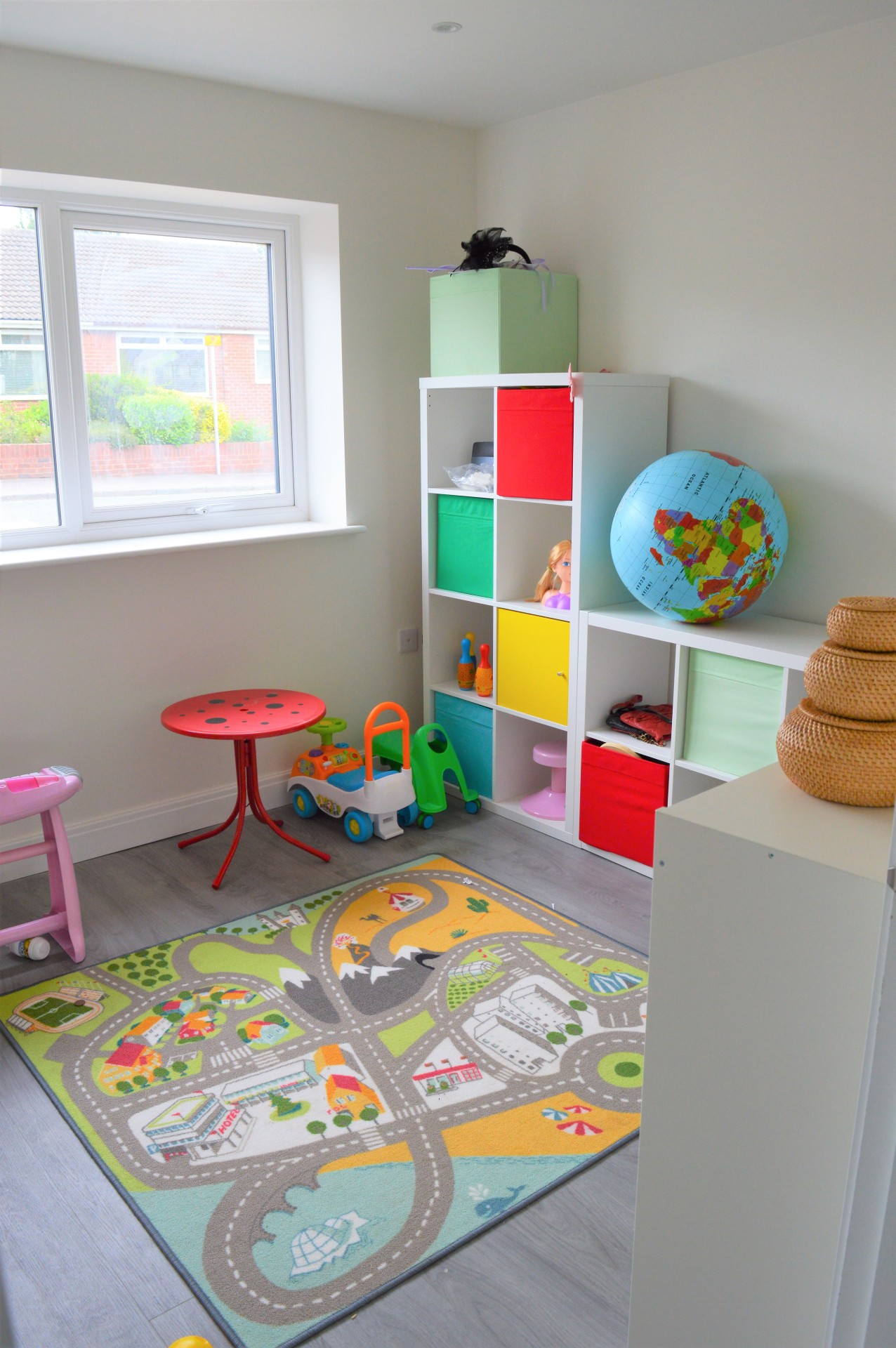 painted playroom