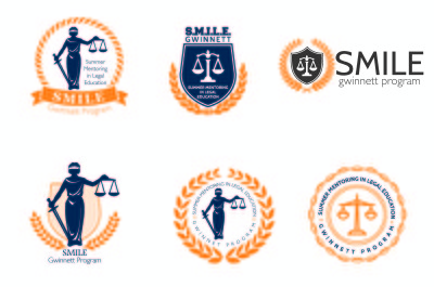 S.M.I.L.E. Gwinnett Concept Logos