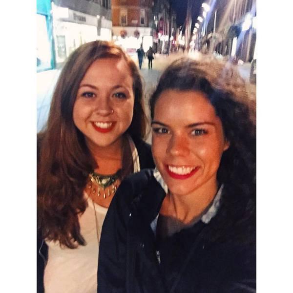 Friday night in Dublin