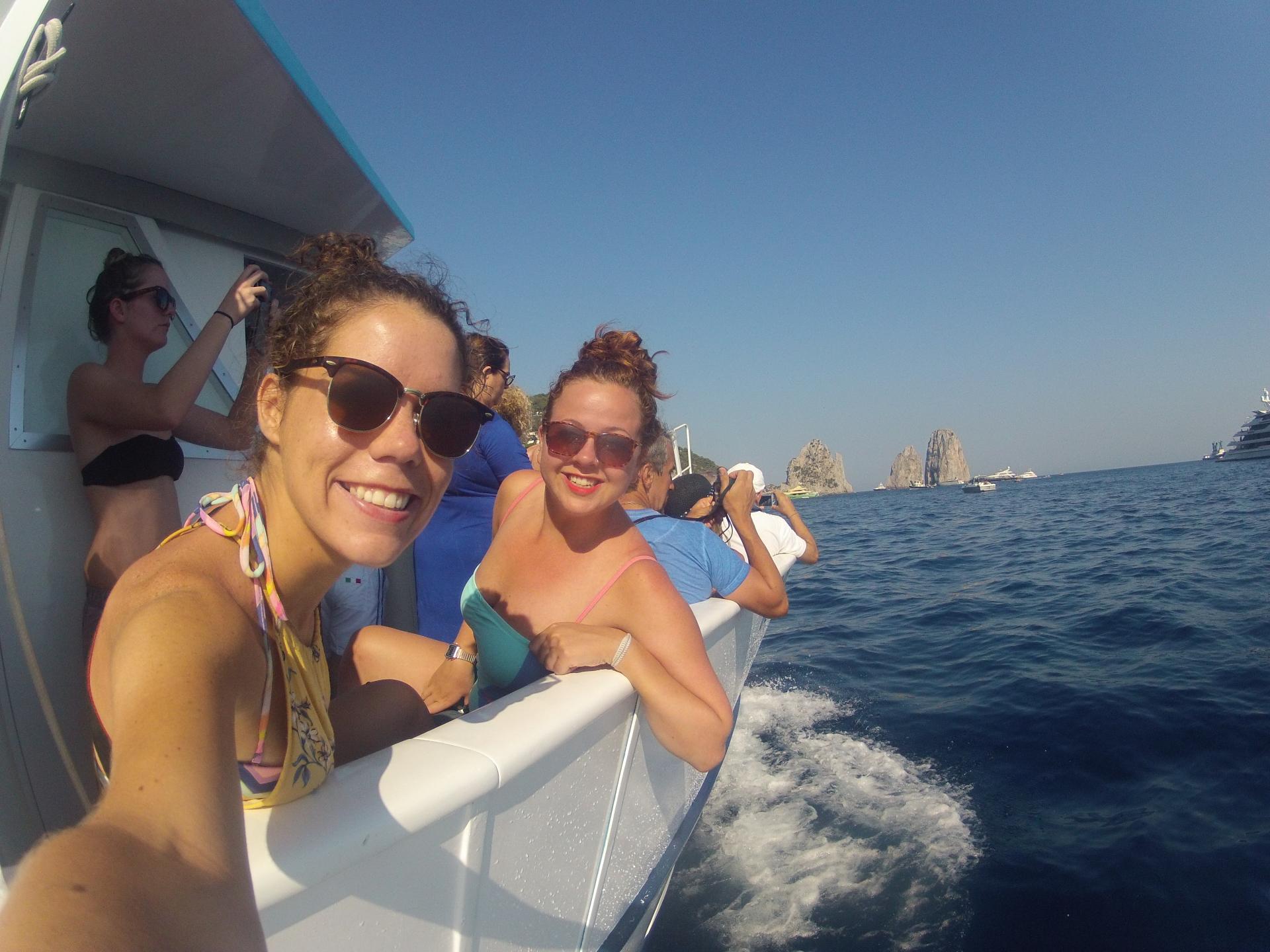 Boat Tour in Capris