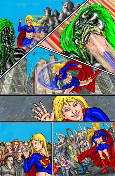 Supergirl page 8