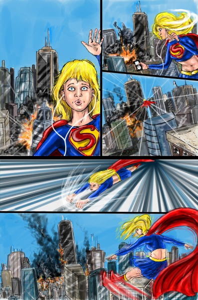 Supergirl page 2